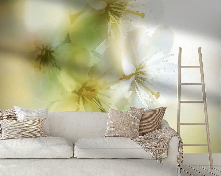 Sfeerimpressie behang: Blossom Style van Andreas Wemmje