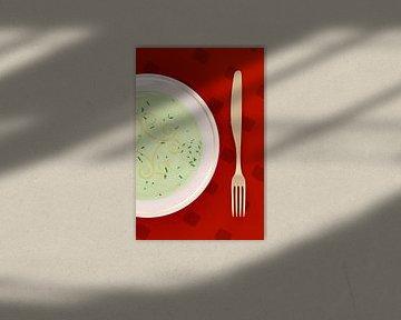 Fork-Knife with Soup Plate van Jörg Hausmann