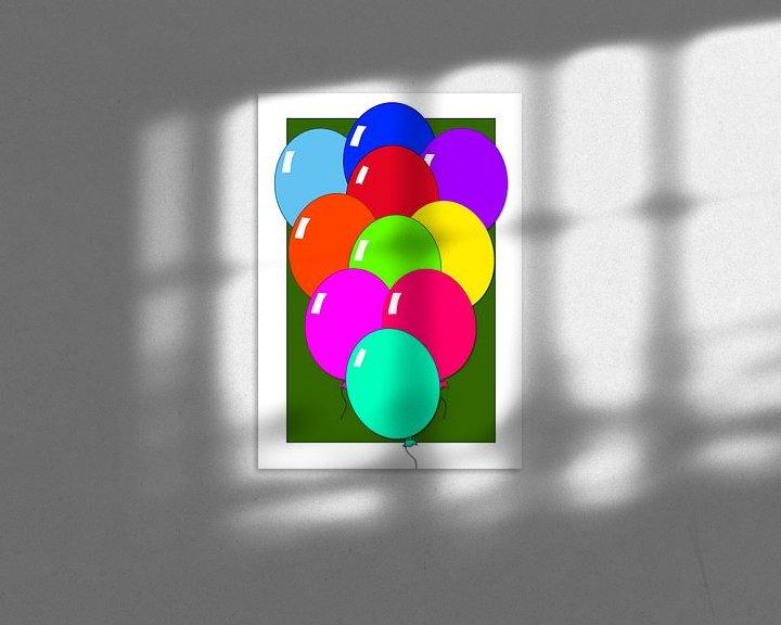 Beispiel: Ballons, zeig es ihnen! von Ellen Voorn