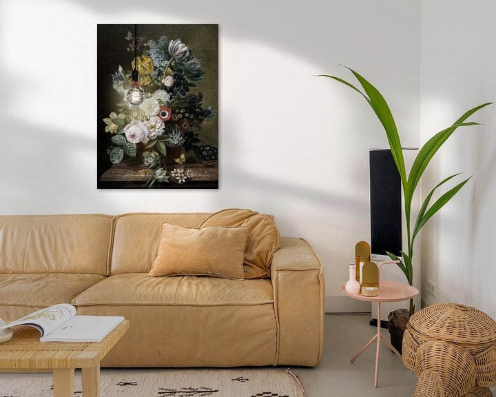 Beispiel: Die Motte und das Stillleben von Marja van den Hurk