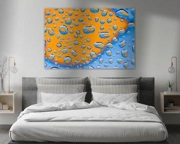 Visjes in waterdruppels