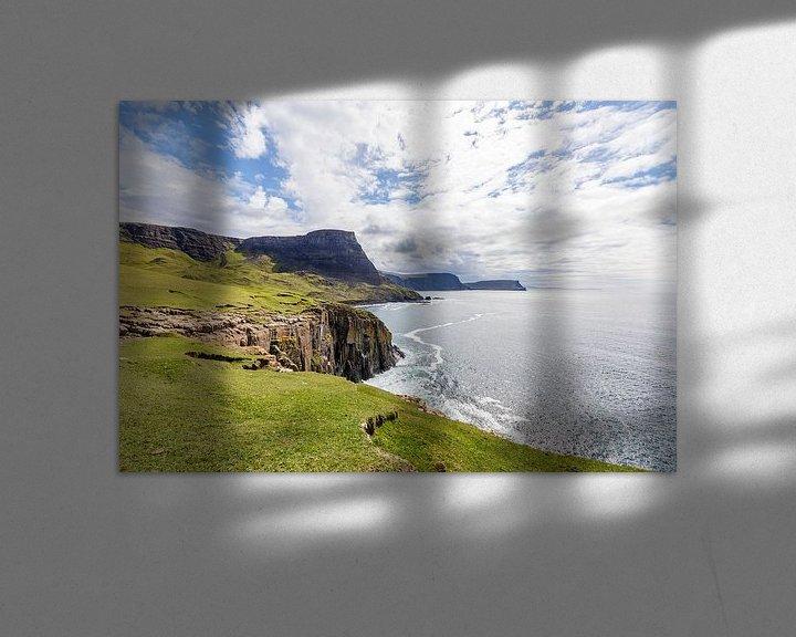 Sfeerimpressie: Waterstein Head - vanaf Neist Point, Isle-of-Skye, Schotland van Remco Bosshard