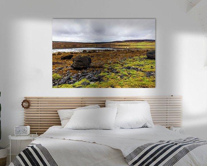 Sfeerimpressie: Eb bij Loch Greshornish, Isle-of-Skye Schotland van Remco Bosshard