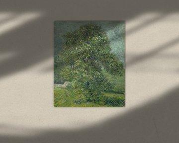 Blühende Kastanie, Vincent van Gogh