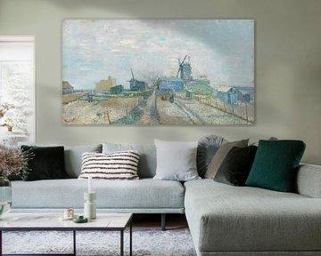 Montmartre: molens en moestuinen, Vincent van Gogh