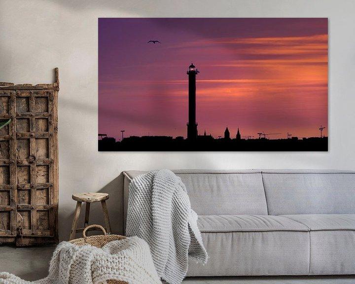 Sfeerimpressie: 9090646 Ostend Skyline van Adrien Hendrickx