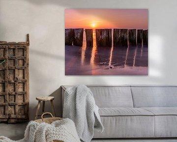 Sunset Eastcoast germany von Bart cocquart