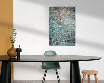 Pastel Poetry 02 van Willie Roosenbrand Art