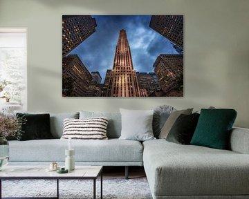 Rockefeller center in New York City von Ronald Westerbeek