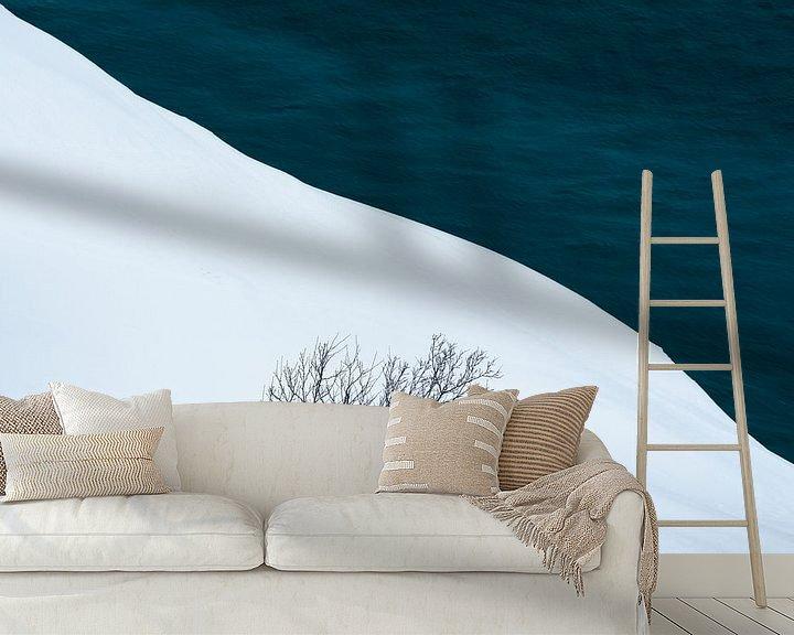 Beispiel fototapete: In the White von Daniel Laan