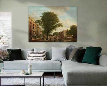 Blick auf die Herengracht in der Leidsestraat in Amsterdam, Hendrik Keun