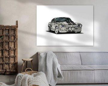 Ford Mustang Shelby GT500 Eleanor von Willem Heemskerk