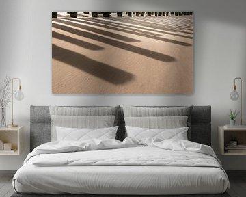 1061 Beach Piano van Adrien Hendrickx