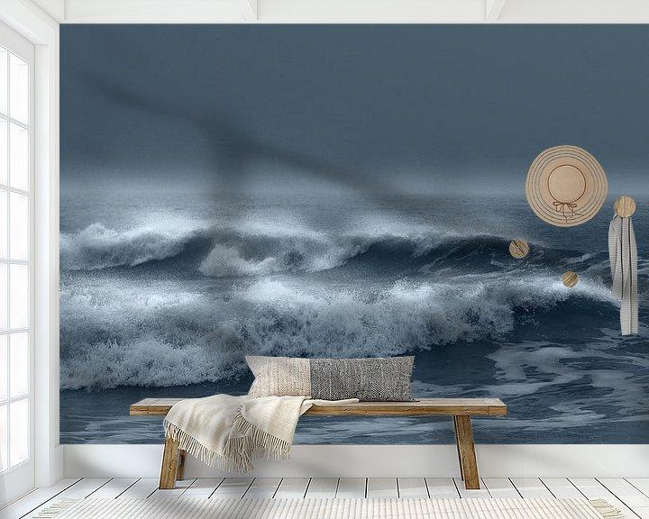Sfeerimpressie behang: 0095 Storm van Adrien Hendrickx