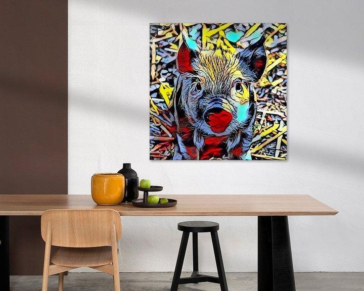 Impression: Color Kick Animal - Piglet sur Angelika Möthrath