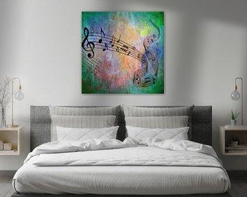 Abstract Music von Angelika Möthrath