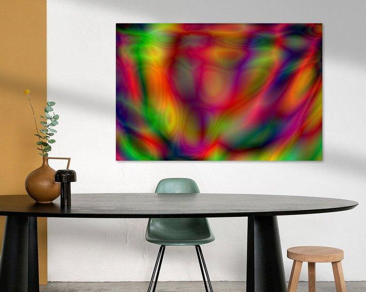Beispiel: Psychedelic art von Kim de Been