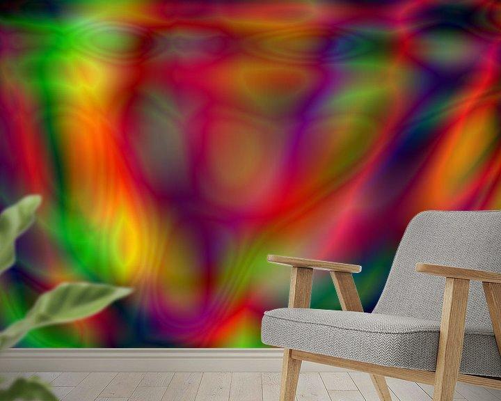Beispiel fototapete: Psychedelic art von Kim de Been