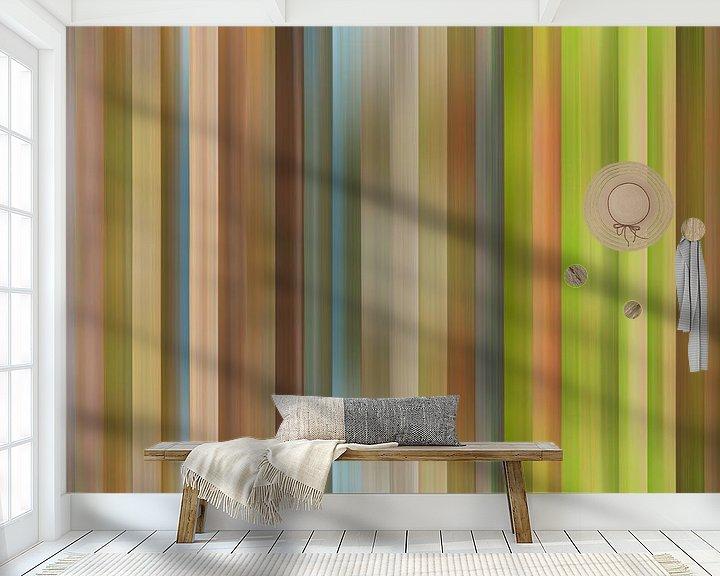 Sfeerimpressie behang: Kleurenpalet van de Herfst in Nederland van Reina Nederland in kleur