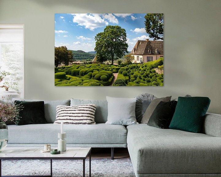 Sfeerimpressie: De tuinen van Marqueyssac in de Dordogne van Martijn Joosse