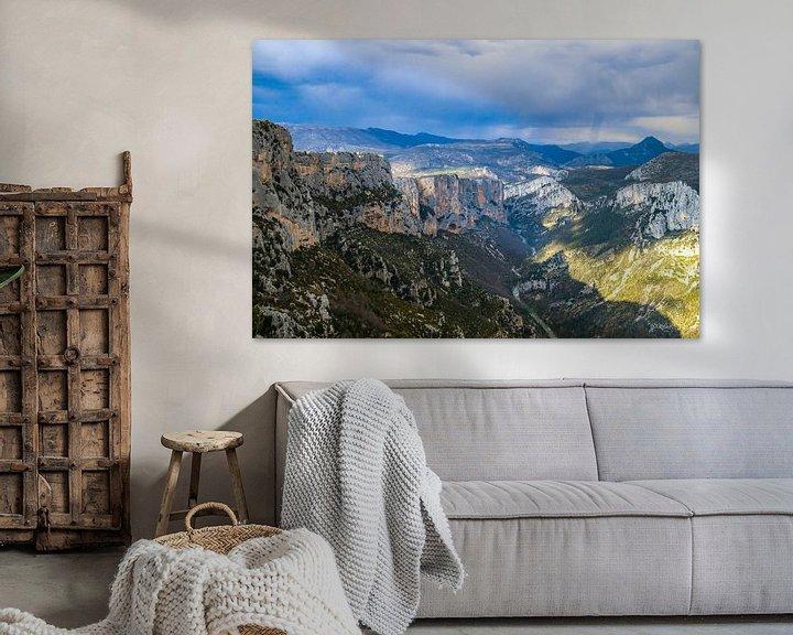 Sfeerimpressie: Uitzicht over de Gorges du Verdon van Martijn Joosse