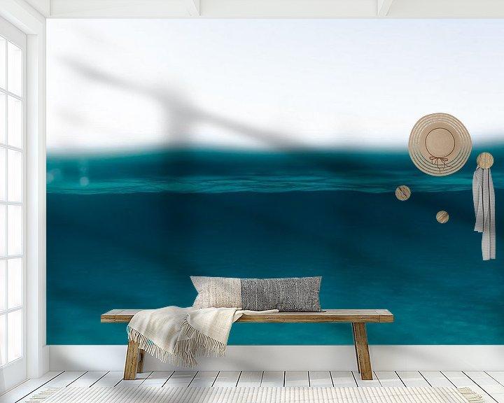 Sfeerimpressie behang: MOTHER OCEAN van STUDIO MELCHIOR