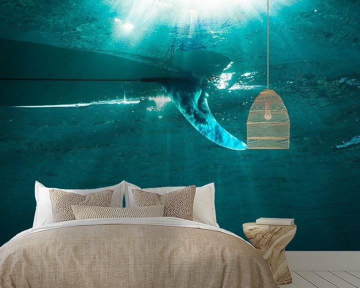 Sfeerimpressie behang: CLEAR WATER van STUDIO MELCHIOR
