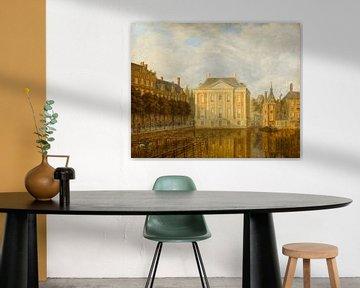 Blick auf das Mauritshuis, Augustus Wijnantz