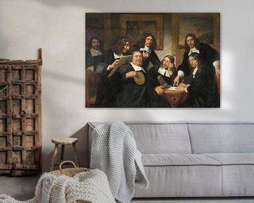 Die Direktoren der Lukasgilde von Haarlem, Jan de Bray