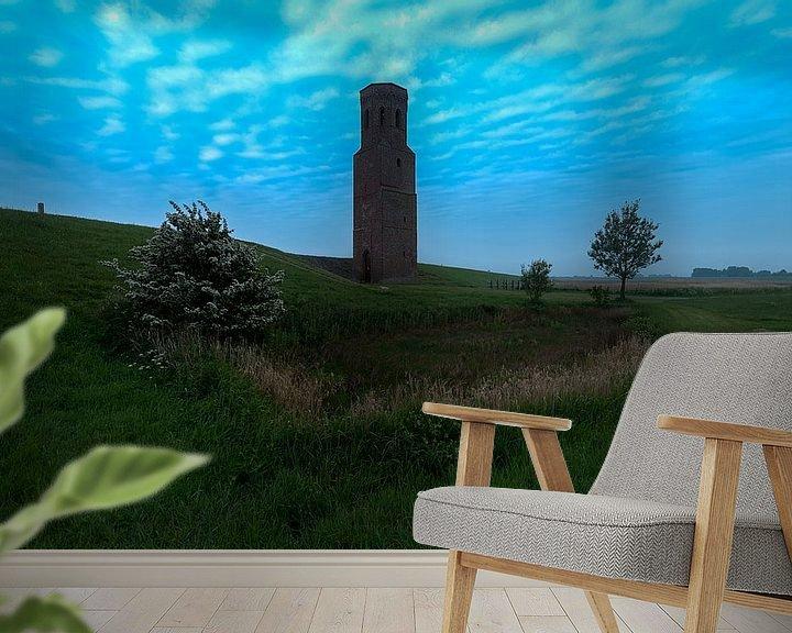 Sfeerimpressie behang: Plompe Toren van Maarten Verhees