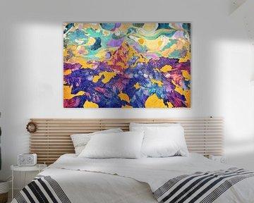 Dreamy Mountain - Illustration II von Art Design Works