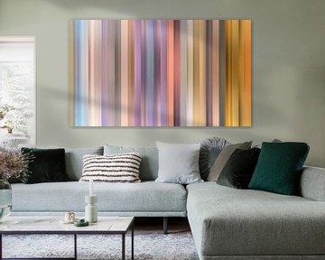 Kleurenpalet van de Zonsopkomst in Nederland van Reina Nederland in kleur