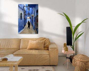 Medina in shades of blue sur Zoe Vondenhoff