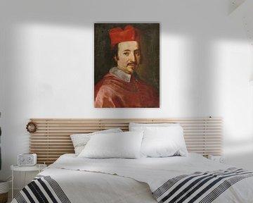 Porträt von Kardinal Federico Ubaldo Baldeschi Colonna, Jacob-Ferdinand Voet