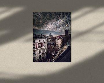 Berlijnse wolken van Iman Azizi