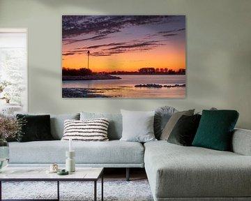 Zonsondergang in Culemborg aan de Lek van Erik Graumans