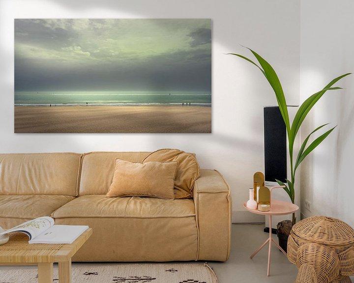 Sfeerimpressie: 3600 Sunday on the beach van Adrien Hendrickx