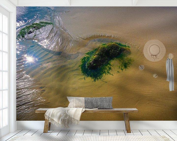 Sfeerimpressie behang: 1573 Cabo Verde van Adrien Hendrickx