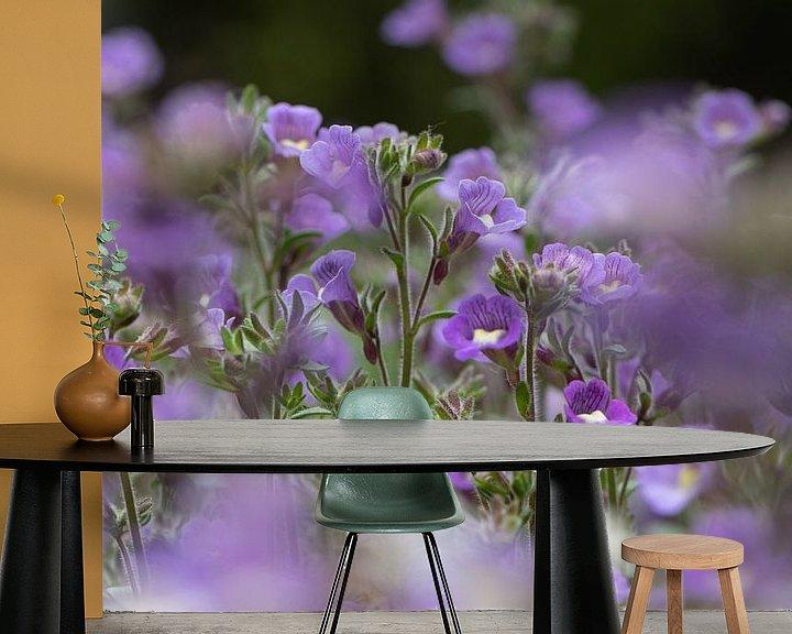 Beispiel fototapete: Blauer Traum von Ingrid Aanen