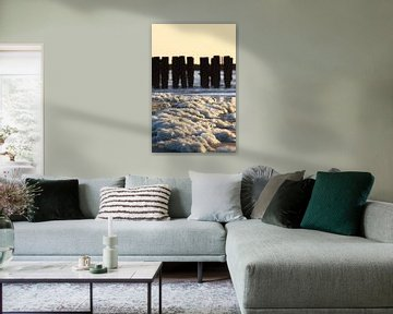 Westkapelle Strand von MSP Canvas