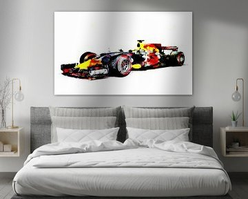 Red Bull F1 Max Verstappen von PictureWork - Digital artist