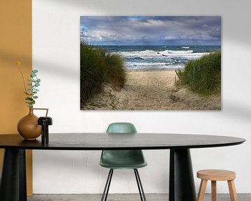 Strandpad van Reiner Würz / RWFotoArt