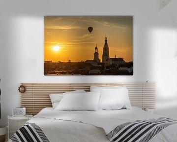 Breda - Sunset Grote Kerk van I Love Breda