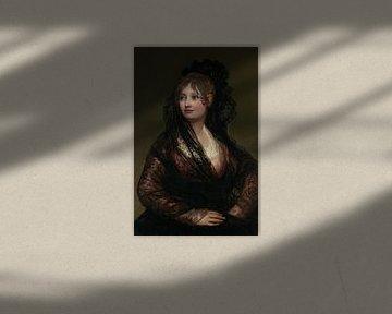 Porträt von Doña Isabel Cobos de Porcel, Francisco de Goya