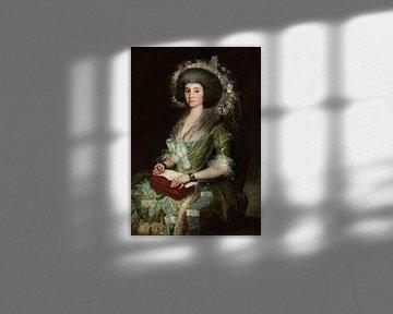 Porträt von Senora Ceán Bermudez, Francisco de Goya