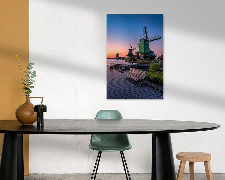 Beispiel: A view of windmills von Costas Ganasos