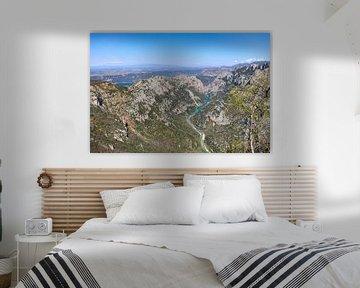 Uitzicht op de Gorges du Verdon van Martijn Joosse