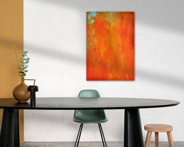 Orange Burst von Maria Kitano