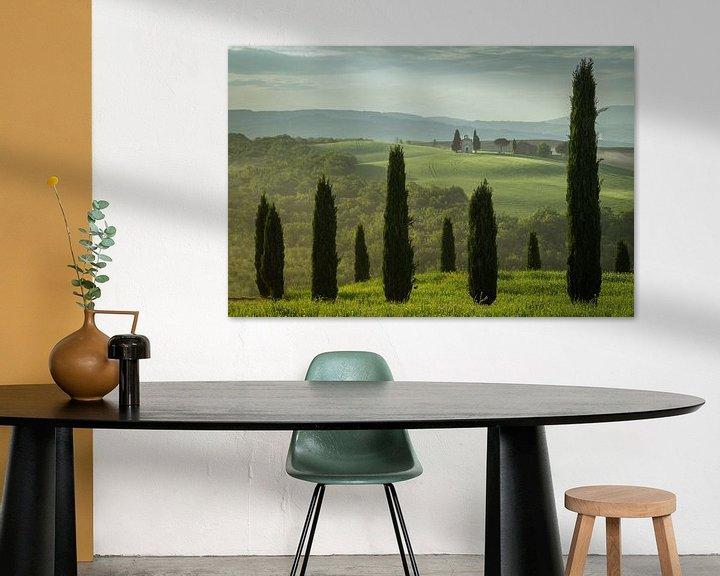Sfeerimpressie: Het Toscaanse Landschap van Edwin Mooijaart