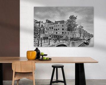 Prinsengracht – Spiegelgracht – Amsterdam van Tony Buijse